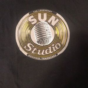 Sun studio Record logo shirt